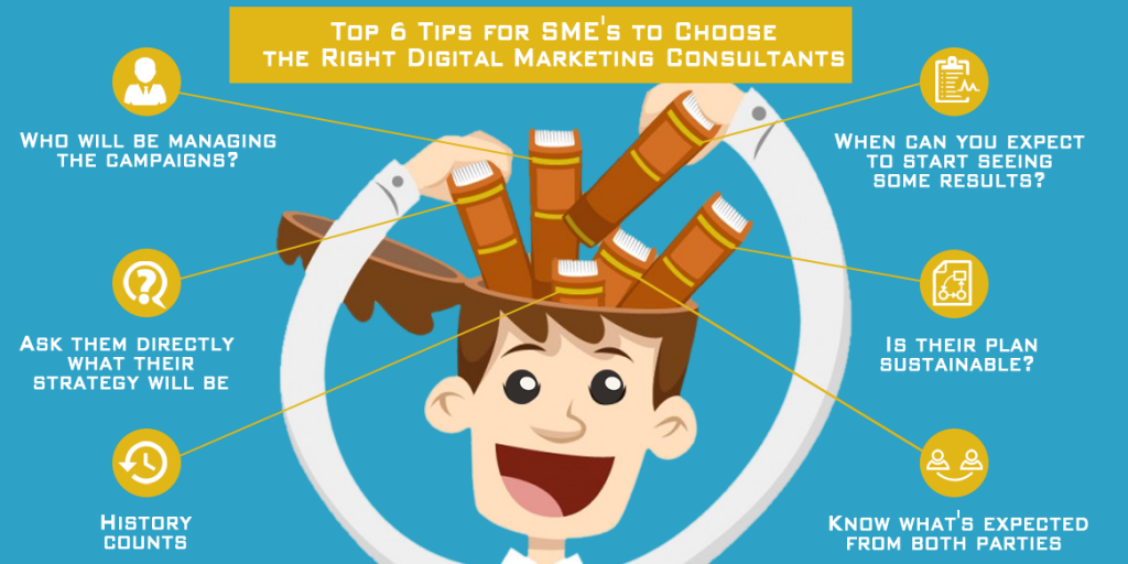 6 tips for SME's to choose the right internet marketing consultant