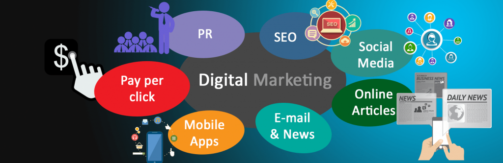 digital marketing services to choose from