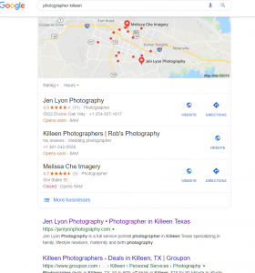 How We Got Fast Results from SEO for Photographers 4